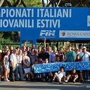 Graziano Minicozzi ai Campionati Italiani di Nuoto Ragazzi - Roma - 07/08/2011