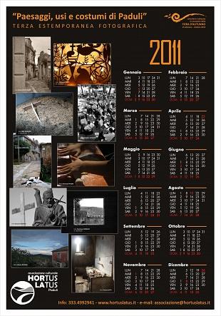 Calendario Hortus Latus - anno 2011