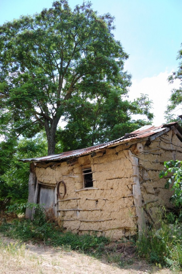 Case di terra cruda - Un esemplare di casa di terra cruda ritrovato nelle campagne di Paduli