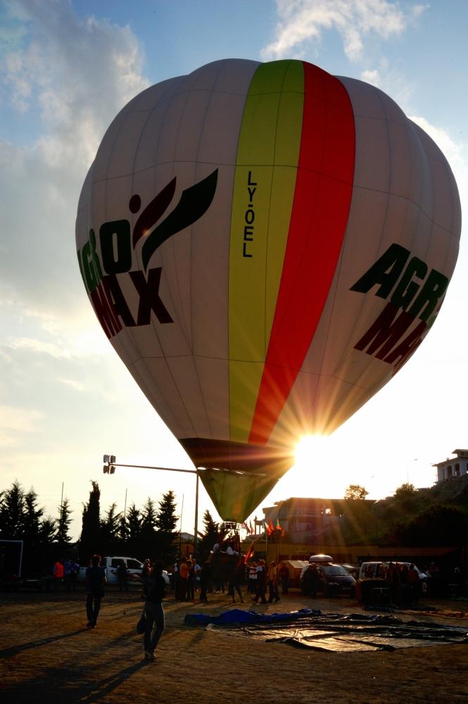 XXIII Raduno Internazionale di Mongolfiere a Fragneto Monforte - 10 ottobre 2009