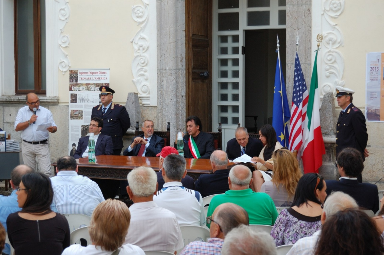 Cerimonia di conferimento della cittadinanza onoraria all'On. Thomas Di Napoli Comptroller dello stato di New York - USA