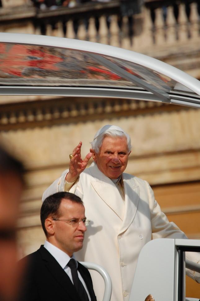 papa Benedetto XVI - Roma - 30/10/2011 - Incontro Nazionale Azione Cattolica