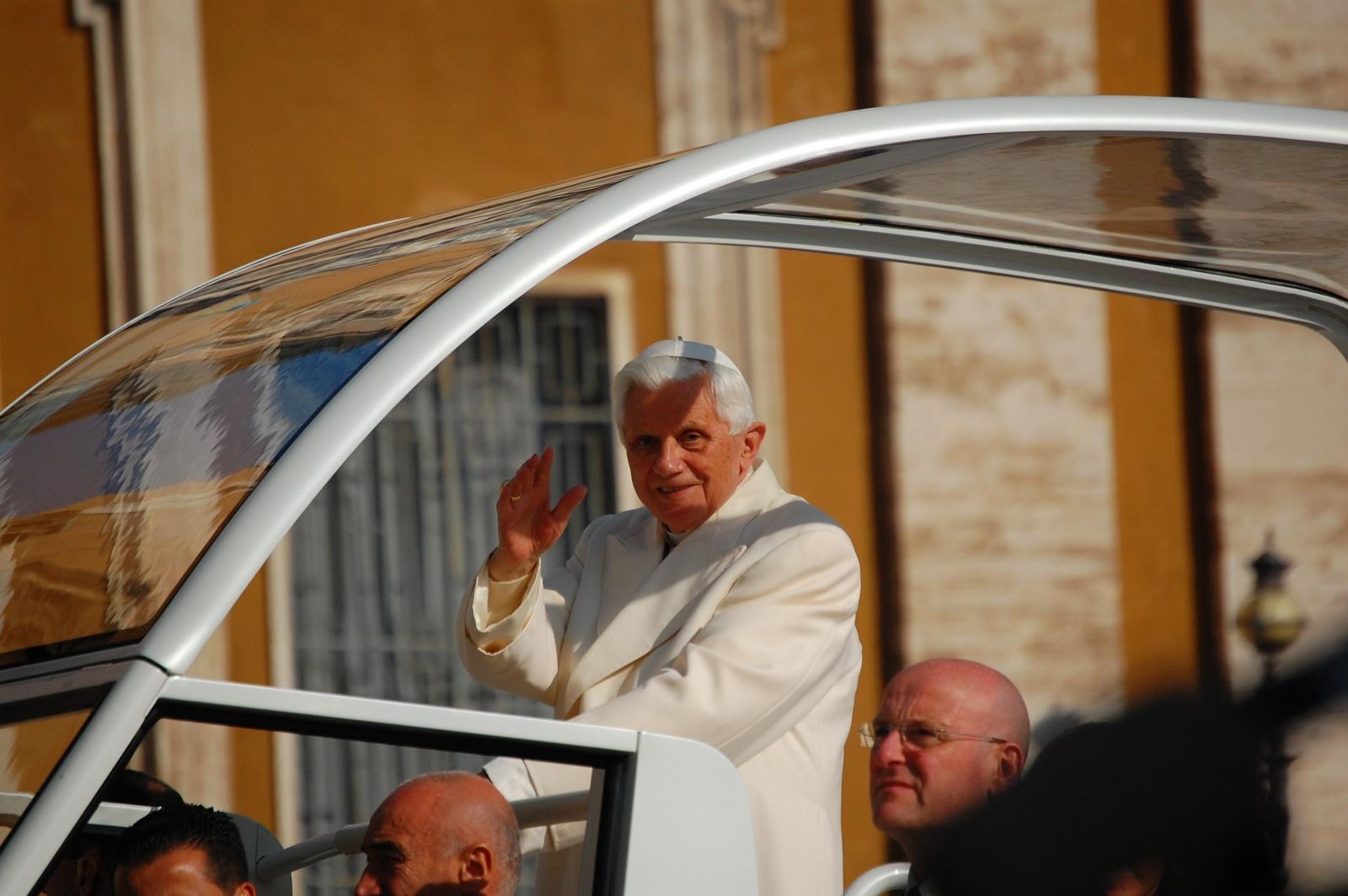papa Benedetto XVI - Roma - 30/10/2010 - Incontro Nazionale Azione Cattolica